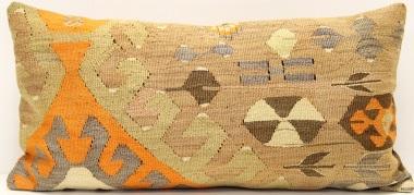 D34 Antique Turkish Kilim Cushion Cover