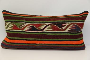 D37 Antique Turkish Kilim Cushion Cover