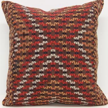 Antique Turkish Kilim Cushion Cover L535
