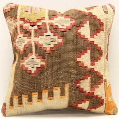 S359 Antique Turkish Kilim Cushion Covers