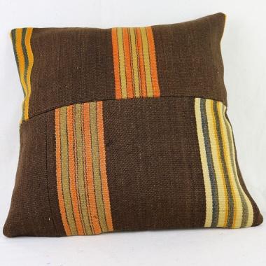 M1523 Antique Turkish Kilim Pillow Cover