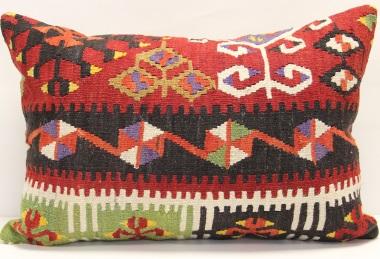 D126 Antique Turkish Kilim Pillow Cover