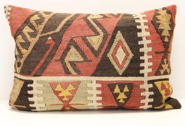 D44 Antique Turkish Kilim Pillow Cover