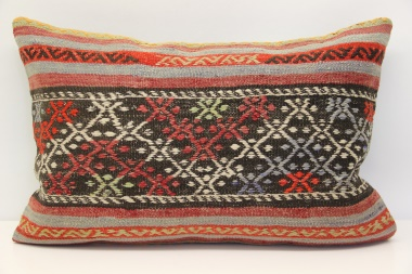 D52 Antique Turkish Kilim Pillow Cover