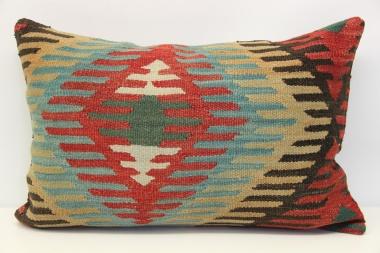 D58 Antique Turkish Kilim Pillow Cover