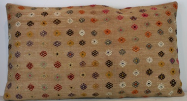 D59 Antique Turkish Kilim Pillow Cover