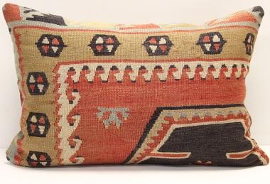 D272 Antique Turkish Kilim Pillow Cover