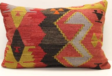 D273 Antique Turkish Kilim Pillow Cover