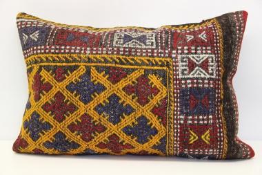 D275 Antique Turkish Kilim Pillow Cover