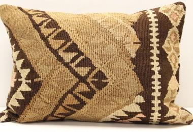 D224 Antique Turkish Kilim Pillow Cover