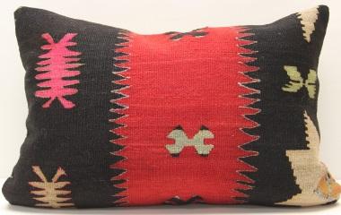 D276 Antique Turkish Kilim Pillow Cover