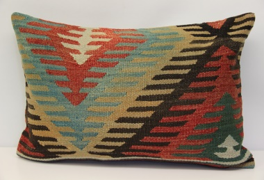D277 Antique Turkish Kilim Pillow Cover