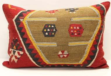 D286 Antique Turkish Kilim Pillow Cover