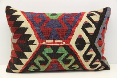 D290 Antique Turkish Kilim Pillow Cover