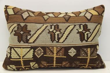 D291 Antique Turkish Kilim Pillow Cover