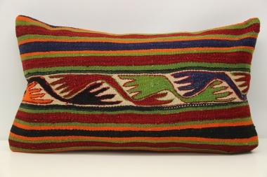 D294 Antique Turkish Kilim Pillow Cover