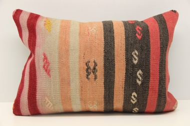 D230 Antique Turkish Kilim Pillow Cover