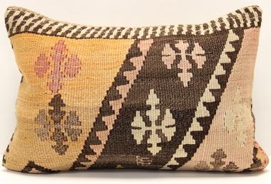 D232 Antique Turkish Kilim Pillow Cover