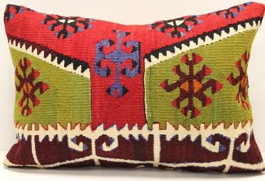 D235 Antique Turkish Kilim Pillow Cover