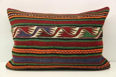 D404 Antique Turkish Kilim Pillow Cover