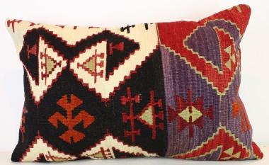 Antique Turkish Kilim Pillow Cover D124