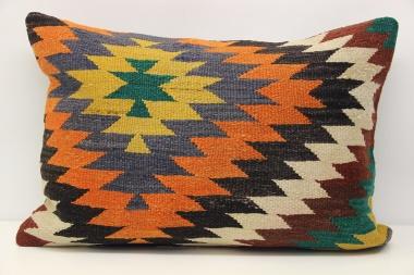 Antique Turkish Kilim Pillow Cover D125