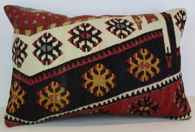 Antique Turkish Kilim Pillow Cover D42