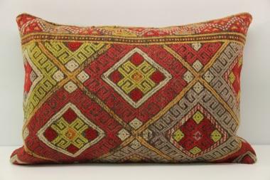 Antique Turkish Kilim Pillow Cover D48