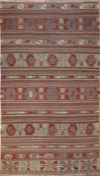 R3112 Antique Turkish Kilim Rug