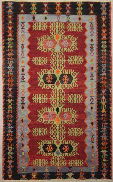 Antique Turkish Kilim Rug R7837