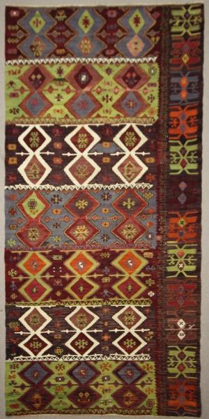 Antique Turkish Kilim Rug R7838
