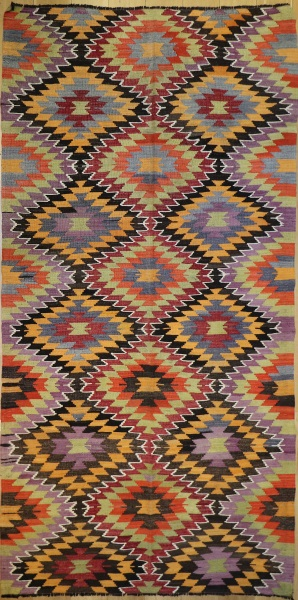 R8912 Antique Turkish Kilim Rugs