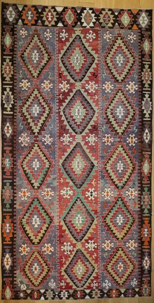 R8913 Antique Turkish Kilim Rugs
