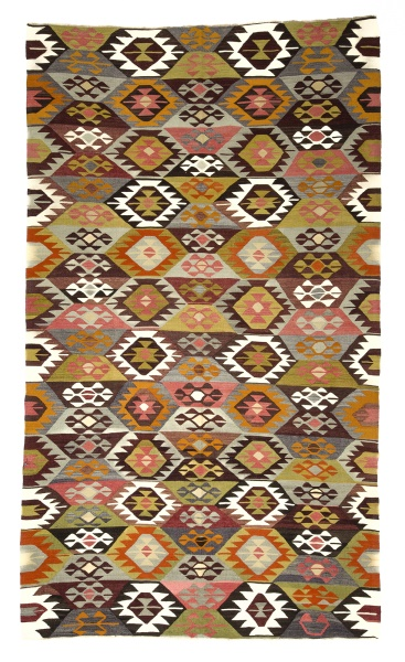 R8916 Antique Turkish Kilim Rugs