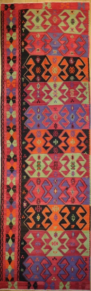 R8919 Antique Turkish Kilim Rugs