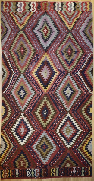 R8922 Antique Turkish Kilim Rugs