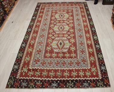 R8967 Antique Turkish Kilim Rugs