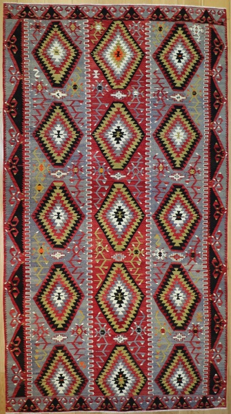 R8927 Antique Turkish Kilim Rugs