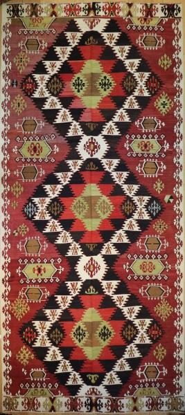 R9133 Antique Turkish Kilim Rugs