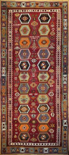 R8949 Antique Turkish Kilim Rugs