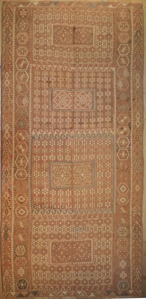 R5456 Antique Turkish Kilim Rugs