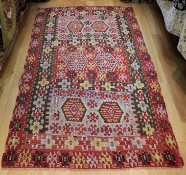 R9059 Antique Turkish Kilim Rugs