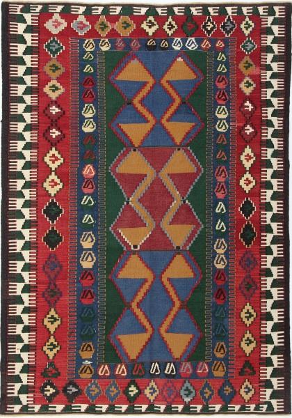 R3566 Antique Turkish Konya Kilim Rug