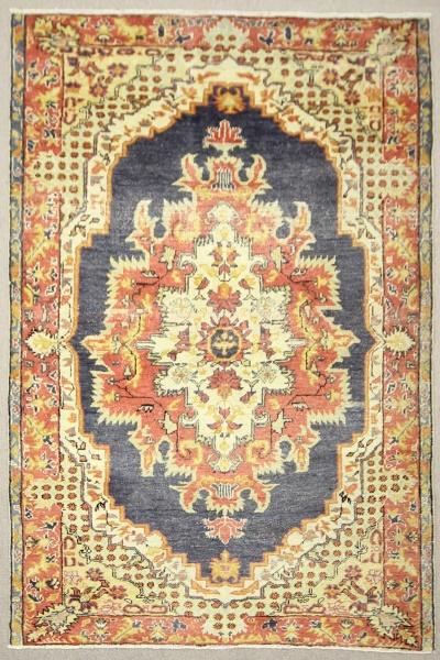 R7652 Antique Turkish Kula Carpet