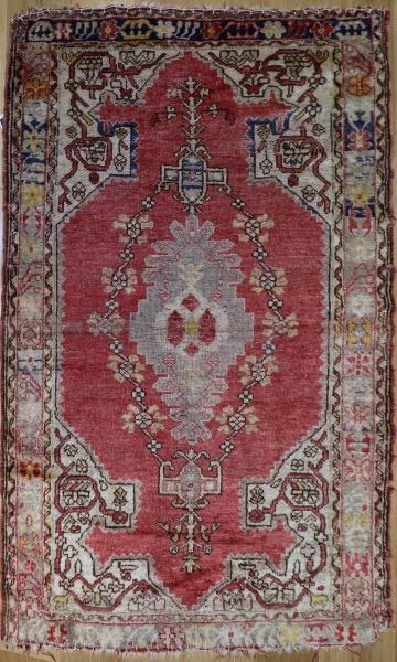 R6442 Beautiful Antique Turkish Kula Carpet