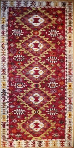 R7144 Antique Turkish Reyhanli Kilim Rug