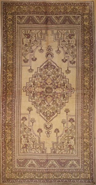 R3906 Antique Turkish Rug