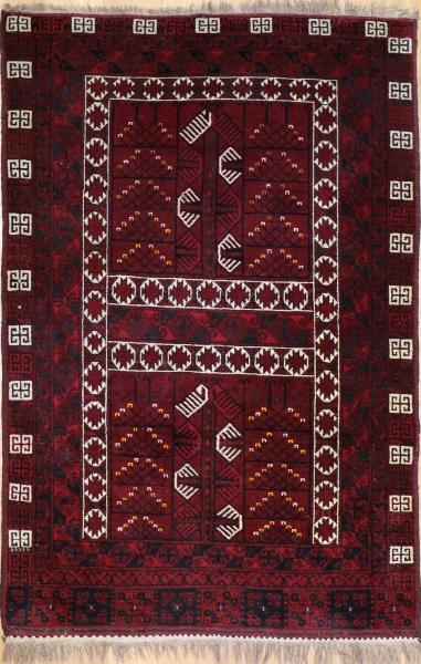 R8356 Antique Turkmenistan Ensi Rug