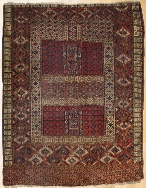 Antique Turkmenistan Ensi Rug R7775