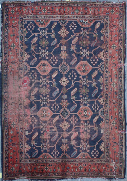 R2727 Antique Ushak Carpet